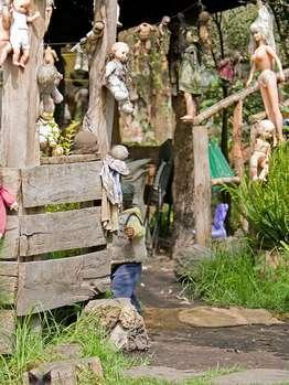 Остров мёртвых кукол в мексико isla dela
