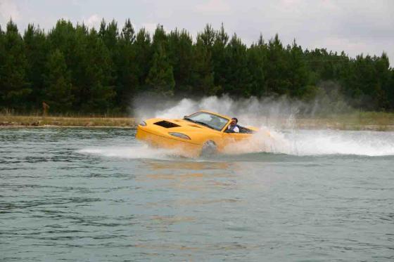 амфибия лодка видео