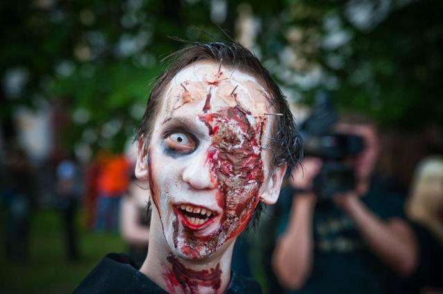 Вампиры и вурдалаки гуляли по Киеву. Живые люди не пострадали