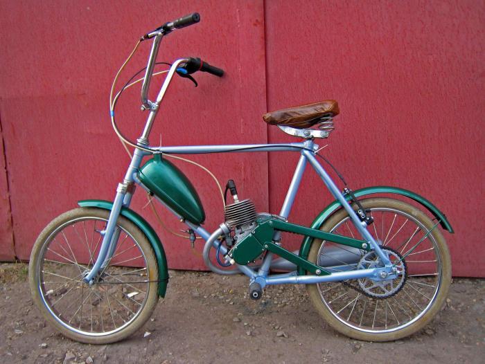 Скутер своими руками из велосипеда