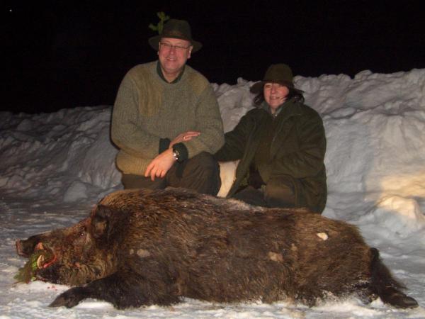 В американском Alabama был застрелян самый огромный кабан, весом в 477...