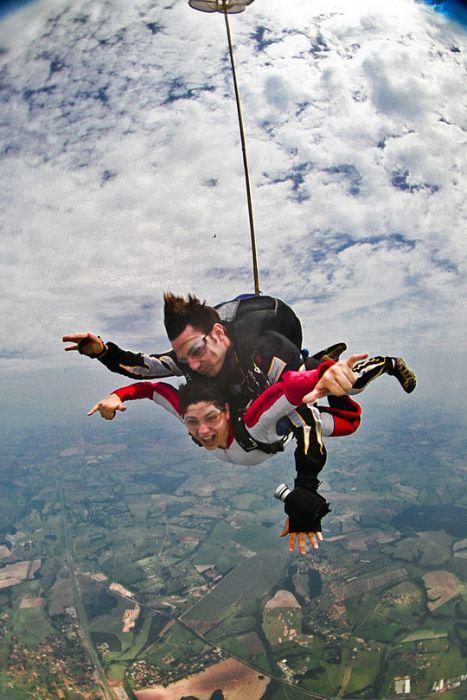 Что одевать при прыжках с парашютом