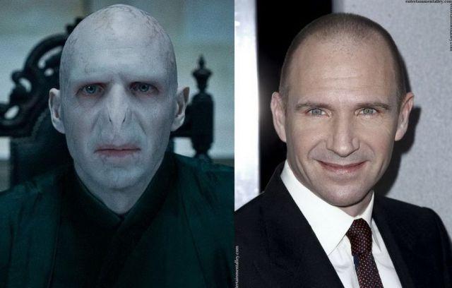 Ralph Fiennes - lord Voldemort v Harry Potter filmech