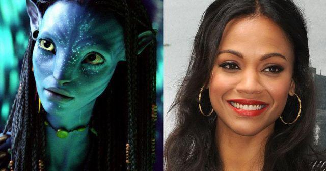 Zoe Saldana - Neytiri ve Avatar