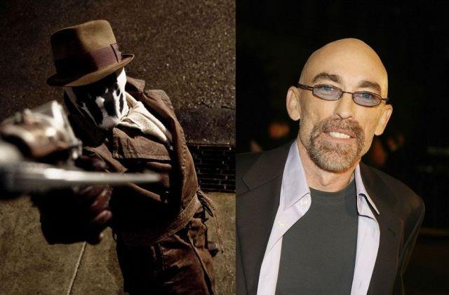 Jackie Earle Haley - Rorschach v Watchmen