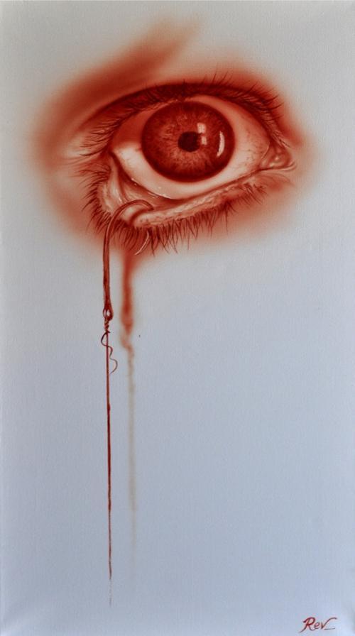 картины кровью: