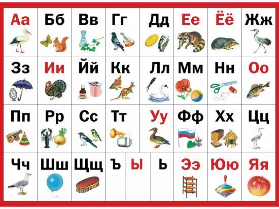 слова звуки гласные и согласные знакомство с алфавитом