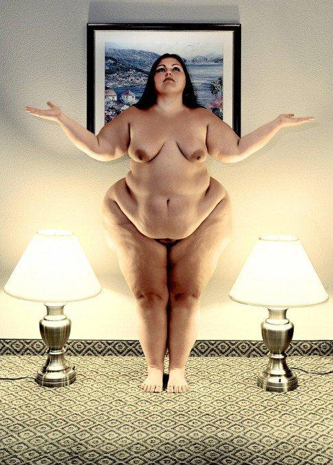 полных женщин голых фотографии