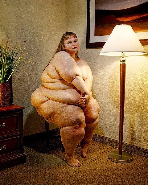 фото очень толстых голых девушек