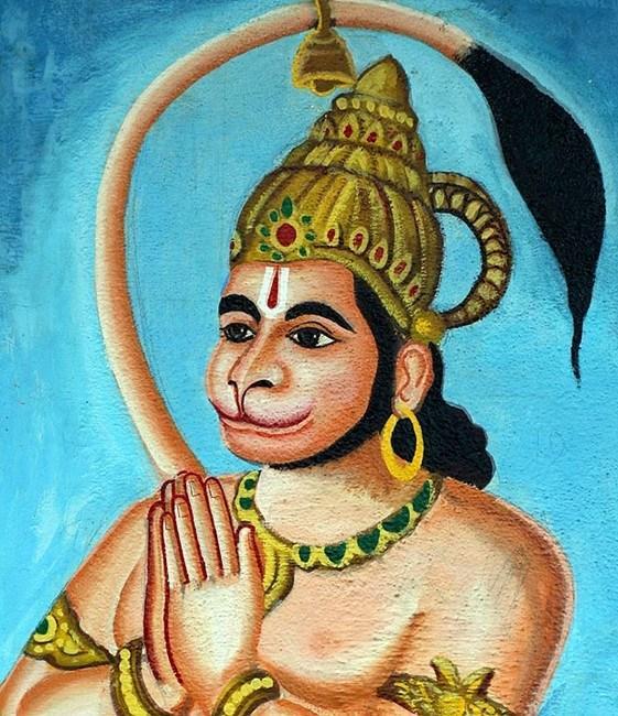 В Индии обожествили  мальчика с хвостом.