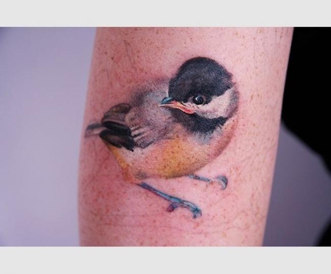 Очень красивые татуировки с природным мотивом