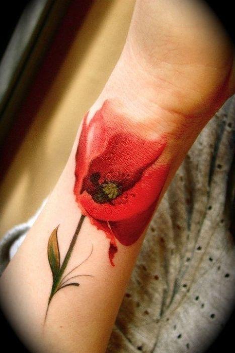 Татуировки очень