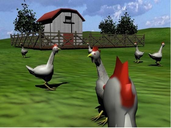 Добро пожаловать в куриную матрицу.