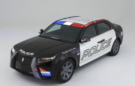 Новые машины полиции в америке