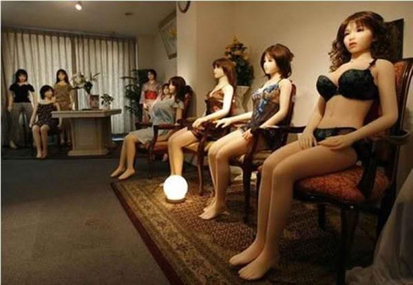 Резиновые куклы для мужчин обзор