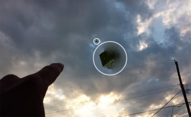 В небе над Техасом, что-то«выпало» из какого-то Параллельного Мира.