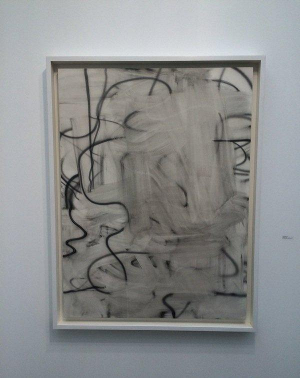 Картину, оцененную художником в три ляма баксов, уничтожил вандал.