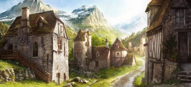 Приключения в деревне.....